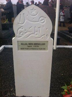 Lorraine : des soldats musulmans morts pour la France honorés