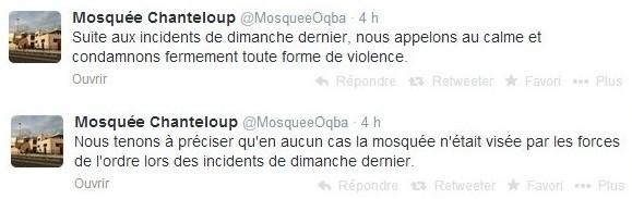 Tensions à Chanteloup-les-Vignes, la mosquée appelle au calme