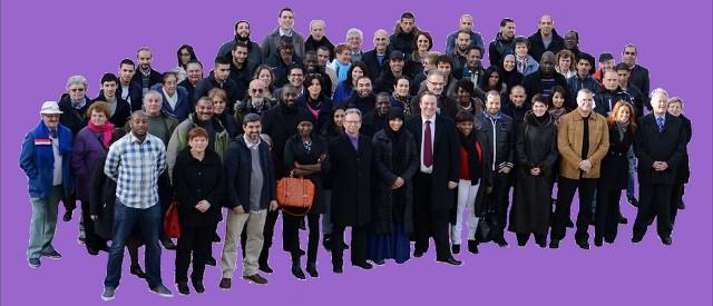 """Affiche de campagne de la liste """"Rendez-nous Bobigny"""" menée par une liste de droite."""