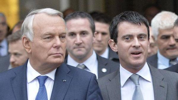 Manuel Valls nommé à Matignon après la démission de Jean-Marc Ayrault, lundi 31 mars..