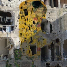 Freedom Graffiti © Tammam Azzam