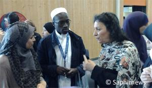 Farida Belghoul à la 31e RAMF.