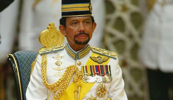 Le sultan de Brunei