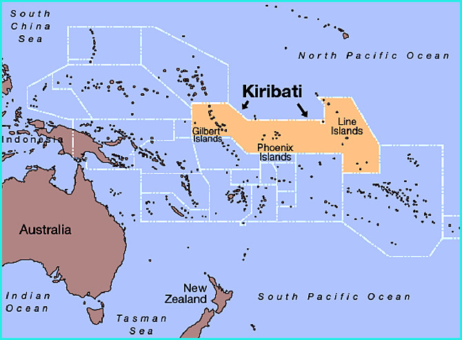 Les musulmans du monde serait-ils prêts à s'aligner sur la vision de la lune à partir de l'archipel de Kiribati (océan Pacifique) pour déterminer le premier jour de Ramadan ?