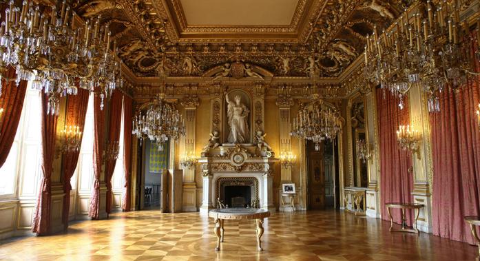 Salon de l'Horloge du Quay d'Orsay © Ministère des Affaires étrangères et européennes/Frédéric de La Mure.