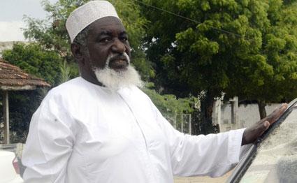 Cheikh Mohamed Idris, un dignitaire religieux important au Kenya assassiné le 10 juin.