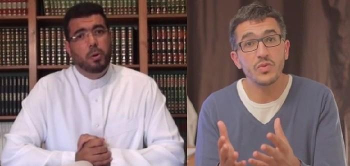 Moncef Zenati (à g.) et Nabil Ennasri s'expriment sur les calculs astronomiques.