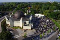La Grande Mosquée de Strasbourg.