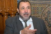Khalil Merroun, le recteur de la Grande Mosquée d'Evry.