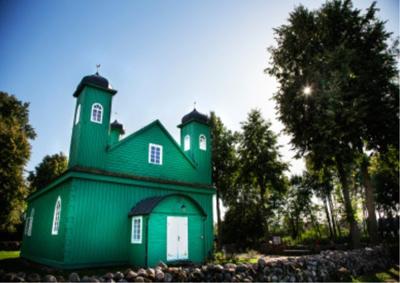 La mosquée de Kruszyniany.