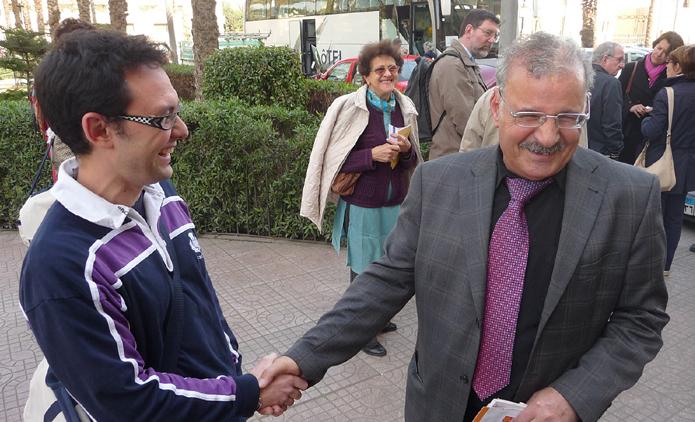 Mahmoud Azab à droite.