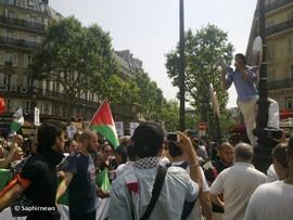 Manif pour Gaza interdite : l'appel à la désobéissance civile entendu par milliers