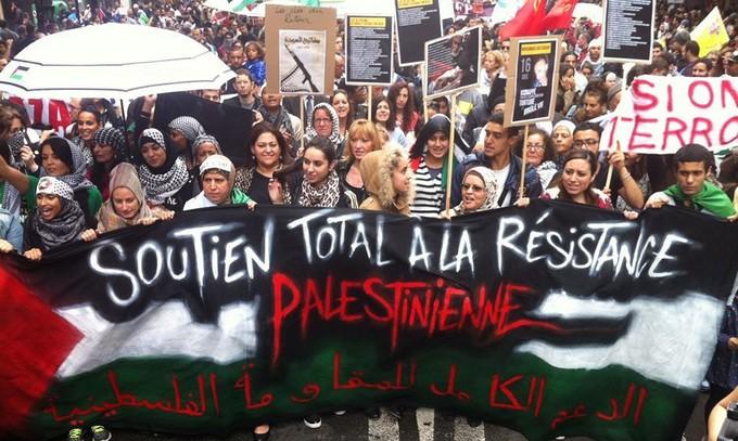 Gaza : une nouvelle manif parisienne interdite