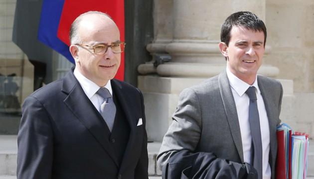 Bernard Cazeneuve et Manuel Valls