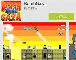 « Bomb Gaza » : quand bombarder Gaza devient un jeu pour Google