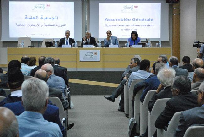 Au cours de sa 41e session présidée par Nizar Baraka, le Conseil économique et social a adopté à une grande majorité son avis relatif au projet de loi n° 103.12 relatif aux établissements de crédit et organismes assimilés.