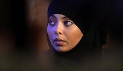 Rabia, une des victimes des agressions islamophobes à Argenteuil en été 2013.