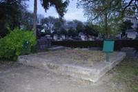 L'emplacement du mausolée de la reine d'Oude.