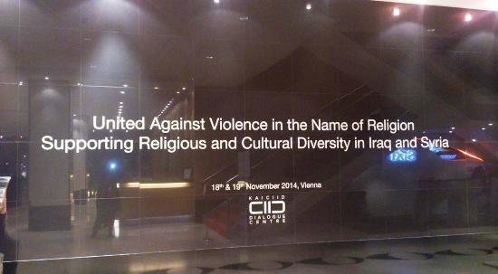 Des religieux réunis avec le Centre international Roi Abdullah Ben Abdelaziz pour le dialogue interreligieux et interculturel (KAICIID) ont condamné les violences commises au nom de la religion.