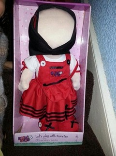 Grande-Bretagne : une « poupée islamique » sans visage en vente