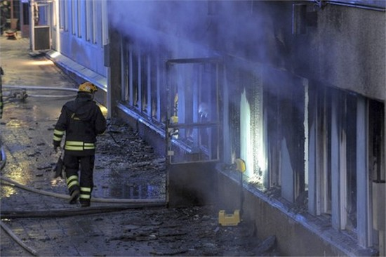 Une mosquée du centre de la Suède a été la cible d'un incendie criminel jeudi 25 décembre, faisant cinq blessés.