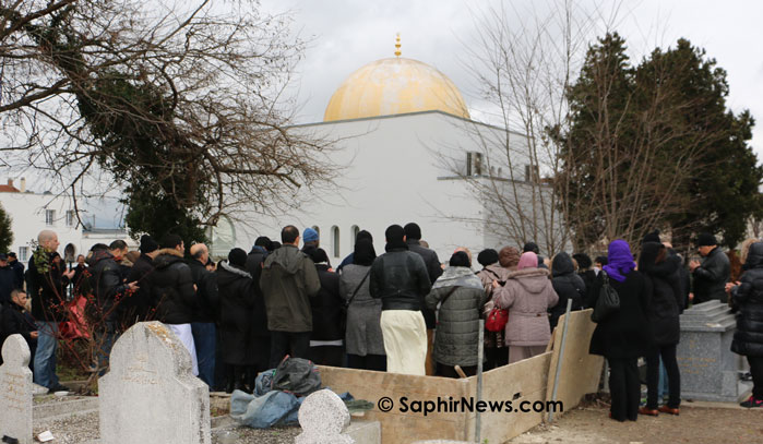 Ahmed Merabet inhumé au cimetière musulman de Bobigny