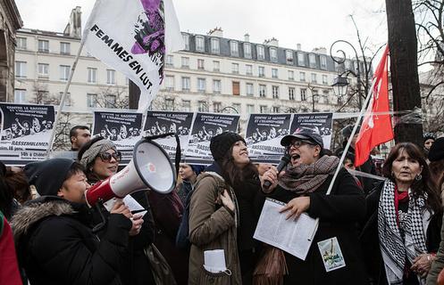 Le non contre l'islamophobie manifesté à Paris