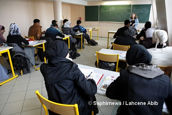 Le lycée musulman Averroès face aux graves accusations de Soufiane Zitouni, ex-professeur de philosophie. Photo prise en 2009.