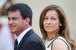 Manuel Valls et son épouse Anne Gravoin.