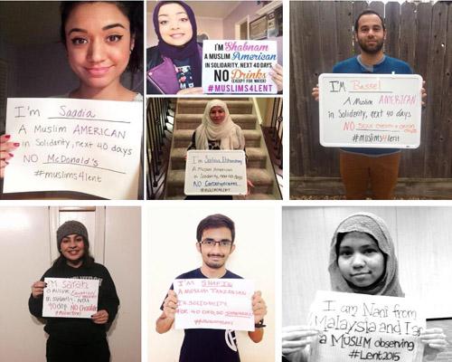 Des musulmans feront le carême et s'affichent sur les réseaux sociaux
