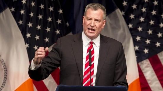 Bill de Blasio, maire de New York, a accordé deux jours fériés aux écoles publiques pour les fêtes musulmanes.