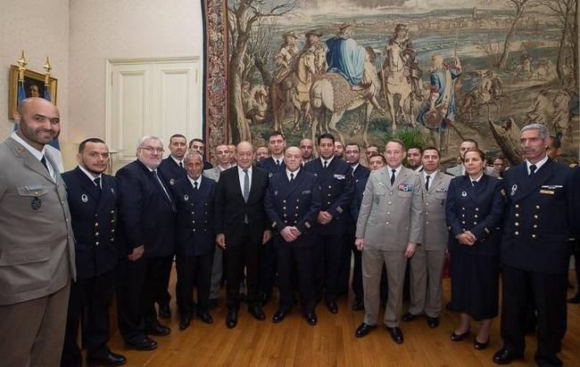 Une cérémonie officielle a été organisée le 18 mars avec le ministre de la Défense, Jean-Yves Le Drian, pour célébrer les dix ans de l'aumônerie musulmane aux armées.