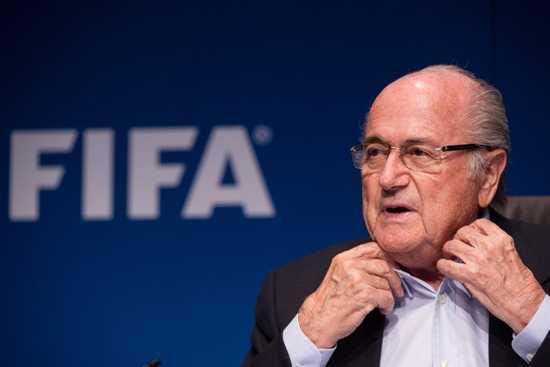 Le président de la FIFA Joseph Blatter.