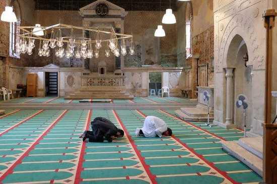 Une église désaffectée transformée en mosquée à Venise pour la Biennale qui se tient du 9 mai au 22 novembre.