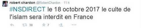 Interdire l'islam en France, le vœu fasciste d'un maire UMP