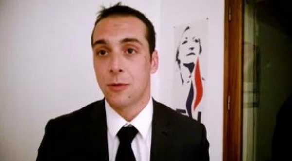 Joris Hébrard, réélu maire au Pontet le 31 mai.
