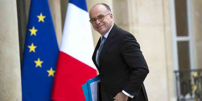 Bernard Cazeneuve, ministre de l'Intérieur.