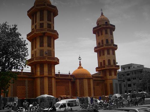 La Grande Mosquée de Ouagadougou.