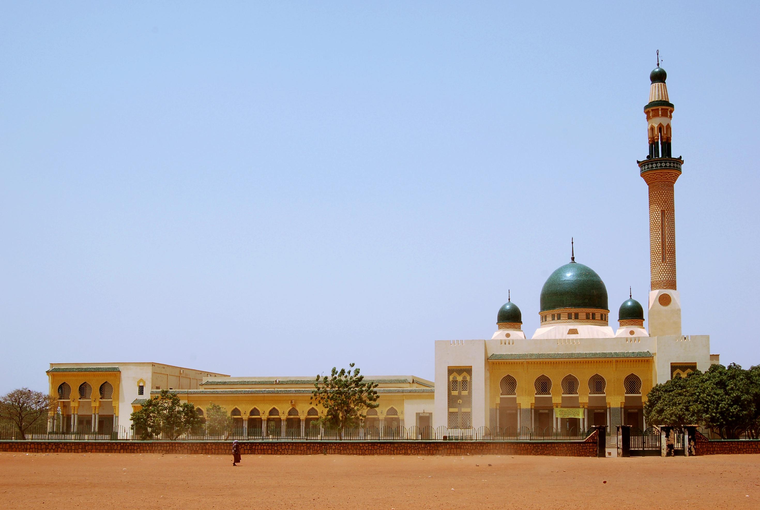 La Grande Mosquée de Niamey.
