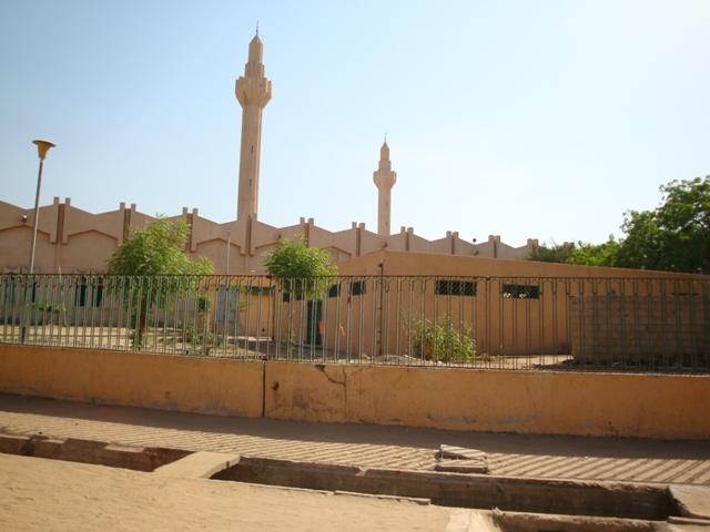 La Grande Mosquée de N'Djamena.
