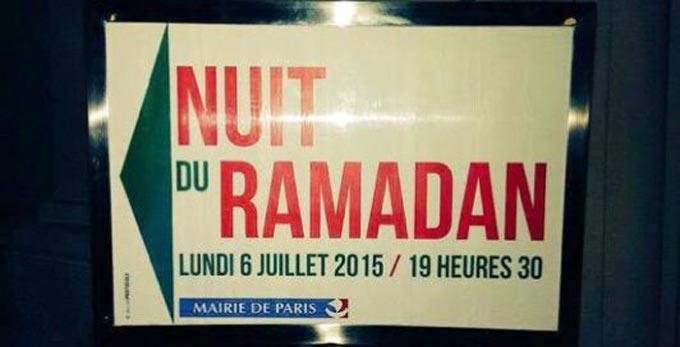 A Paris, une « Nuit du Ramadan » en catimini
