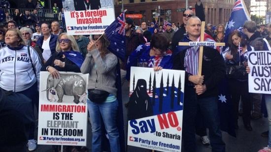 Australie : l'islamophobie manifestée dans plusieurs villes