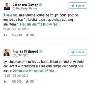 La France en maillot de bain, garant de la « civilisation »