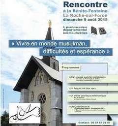 Un pèlerinage islamo-chrétien pour une rencontre au sommet