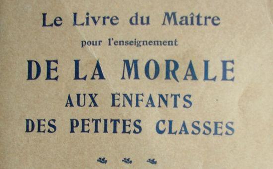 L'enseignement moral et civique : les raisons d'un soutien critique