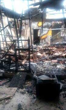 L'incendie du 23 août a détruit 70 % de la mosquée As-Salam d'Auch. (Photo : © ACMG)