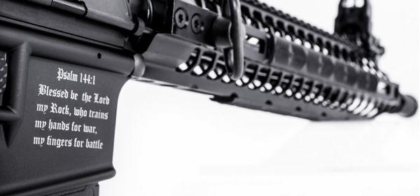 Un « fusil du croisé » contre les musulmans vendu aux Etats-Unis