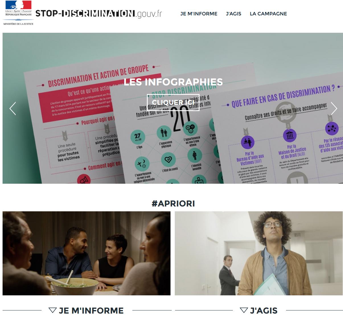 Un site pour lutter contre les dicsriminations lancé