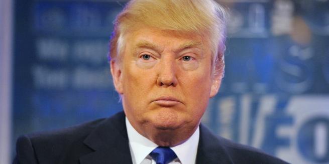 Donald Trump, le candidat républicain favori des sondages pour les présidentielles 2016.