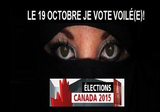 Une opération tous voilés pour aller voter au Québec